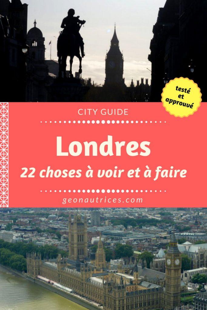 Guide de Londres, capitale Britannique. Les choses à faire, les lieux à voir, les pubs et restaurant à découvrir... Retrouvez tout dans cet article ! #Londres #voyage #europe