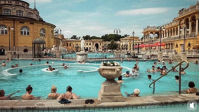 Les bains Széchenyi, Budapest