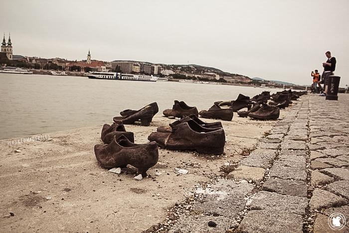 Les chaussures au bord du Danube