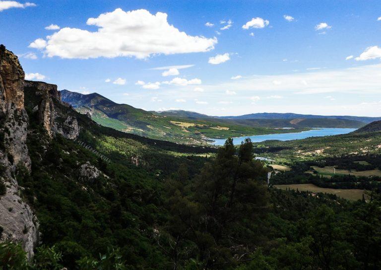 Randonnée sur les hauteurs de Moustiers-Sainte-Marie (04)