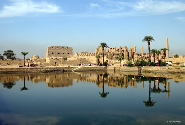 Temple of Karnak at the Holy See (Egypt)