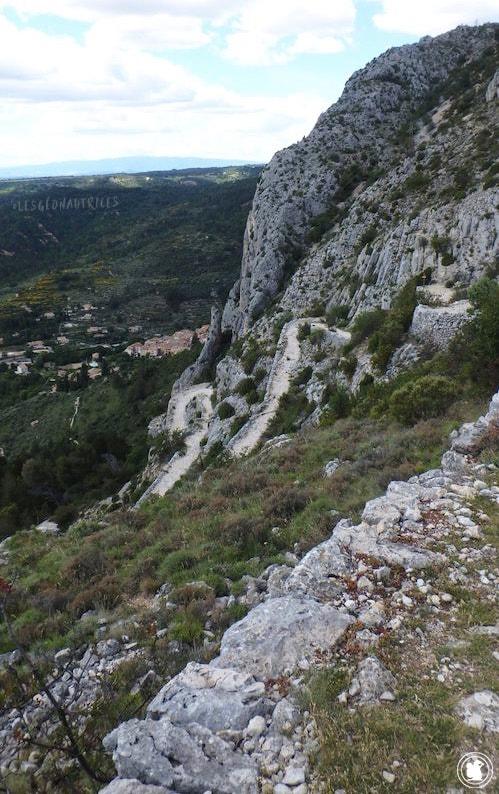 Voie Romaine, Moustiers-Sainte-Marie