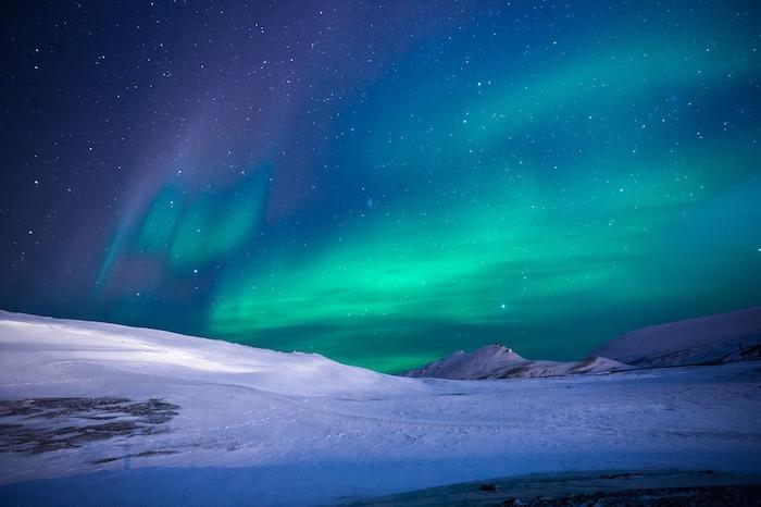 Voir une aurore boréale dans un pays nordique