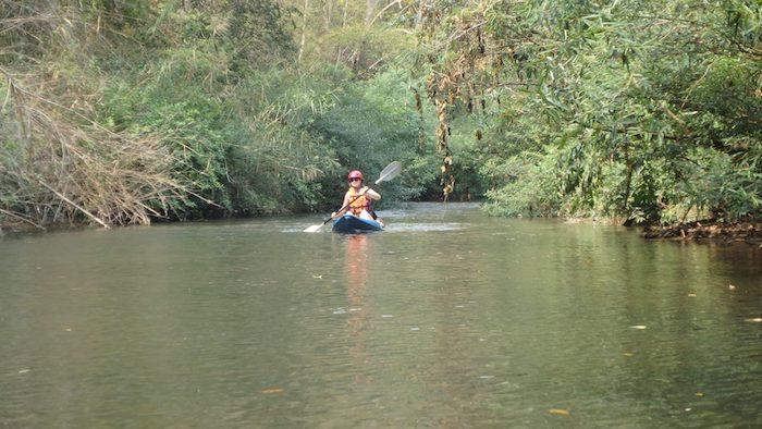 Kayak dans le nord de Chiang Mai en Thaïlande
