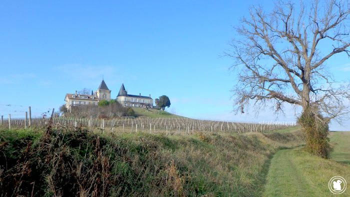 Les châteaux de la randonnée de Fronsac