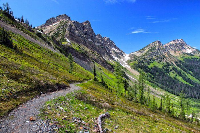 Ascending Rock Pass, Pacific Crest Trail