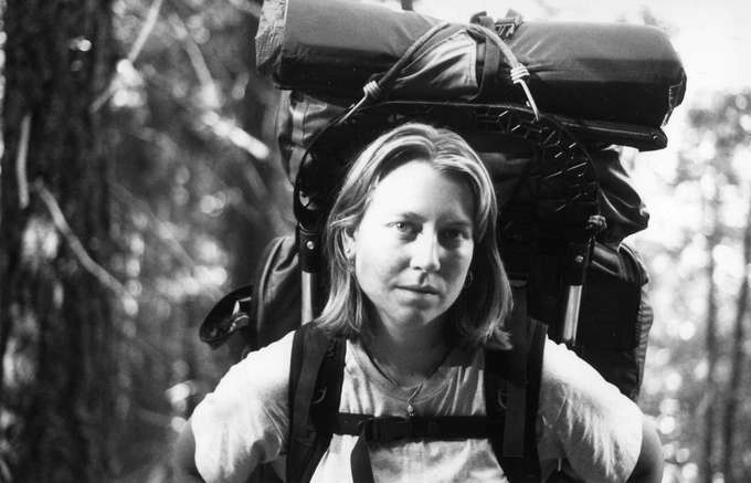 Cheryl Strayed sur le Pacific Crest Trail