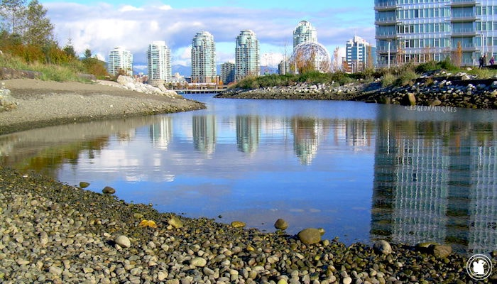 Science World et buildings, Vancouver