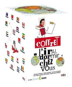 """Coffret DVD """"J'irai dormir chez vous"""" Antoine de Maximy"""