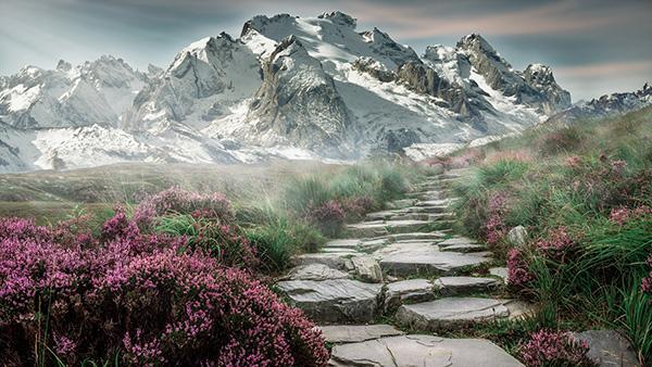 Avec ce programme d'entraînement, vous êtes aptes à voir ses magnifiques paysages de montagne ;)