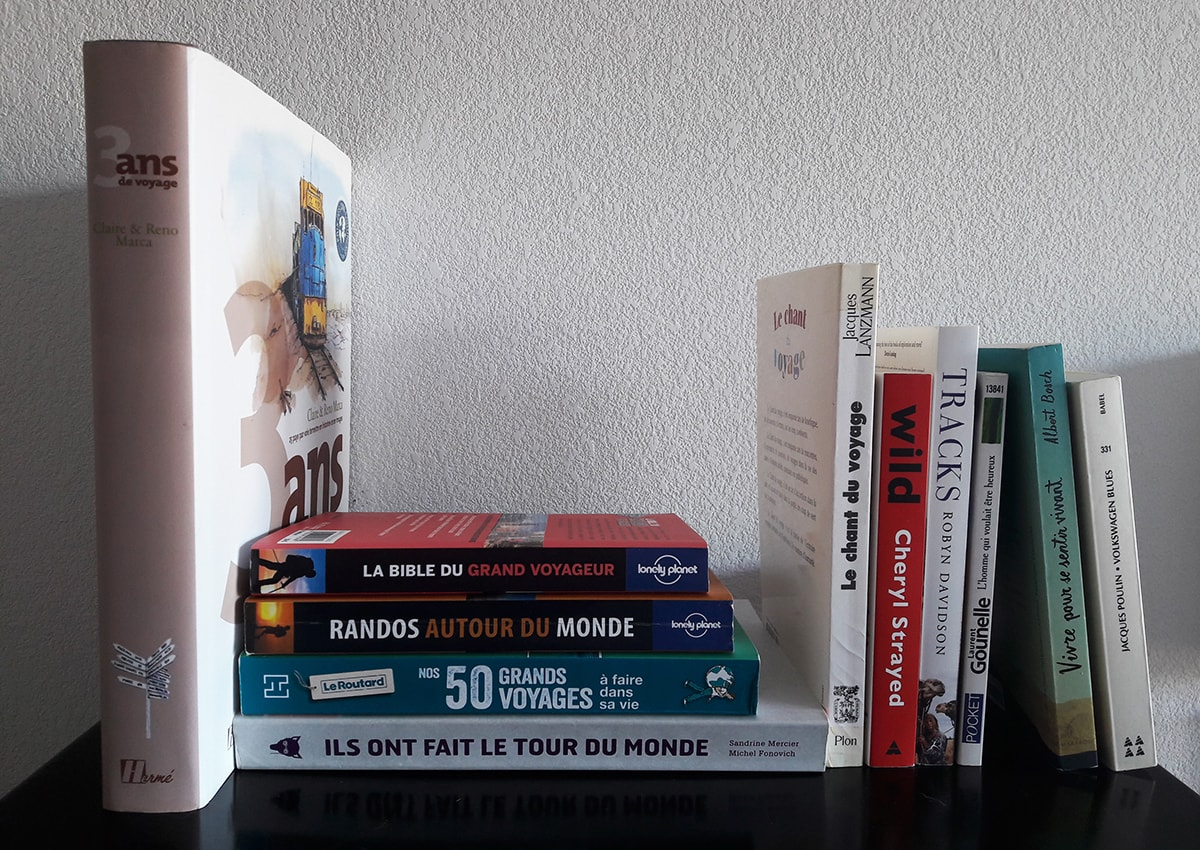 Top 20 des livres de voyage qu'on adore