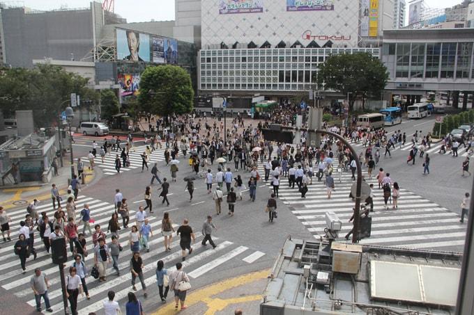 Shibuya Crossing, le passage piéton le plus connu au monde