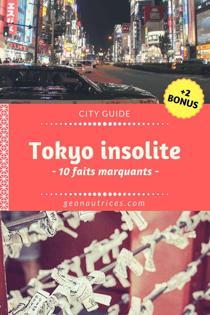 Envie d'insolite, de dépaysement ou de choc culturel ? Découvrez ces 10 faits marquants sur Tokyo qui montrent la ville sous un autre angle.. #tokyo #japon #voyage #travel