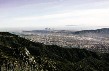 Downtown Los Angeles depuis Verdugo Mountain