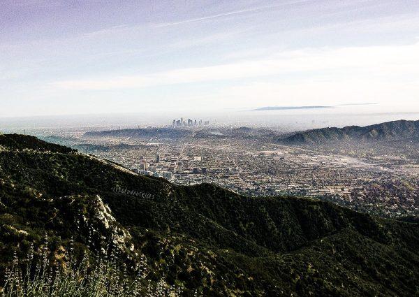 Downtown Los Angeles depuis Verdugo Mountain