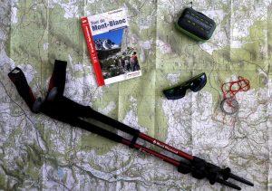 Préparation pour le Tour du Mont-Blanc