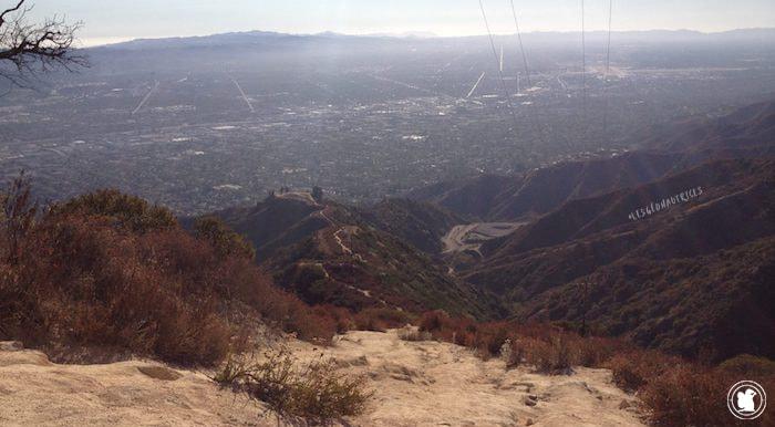Randonnée Verdugo Moutain, Los Angeles