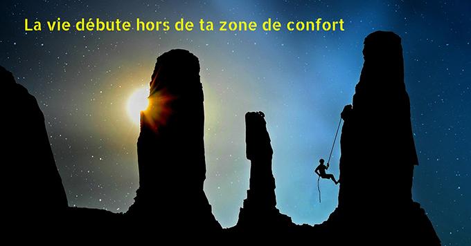 La vie débute hors de ta zone de confort. Ebook gratuit des Géonautrices