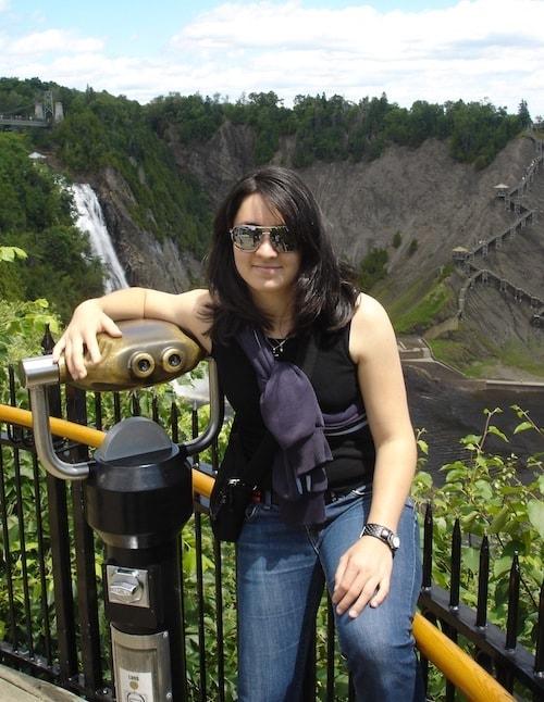 Que faire à Québec - le parc de la chute Montmorency