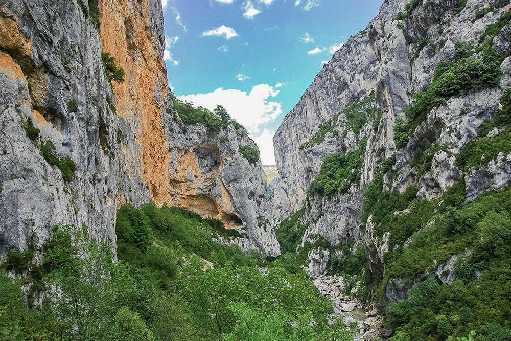 Les Gorges du Verdon, une histoire d'amour et de Provence
