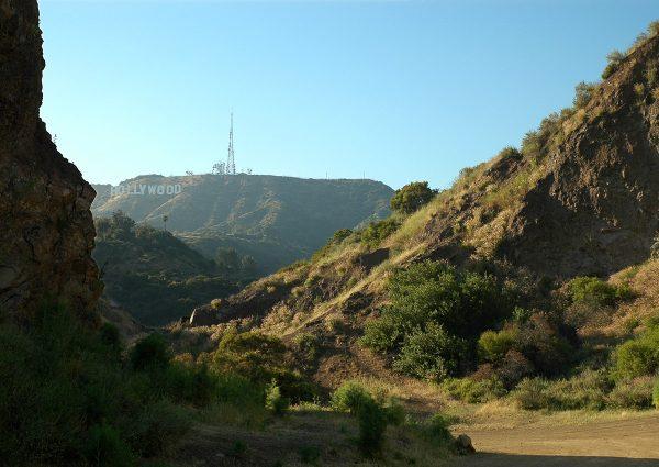 Hollywood Sign depuis Bat Cave - Randonnée Griffith Park