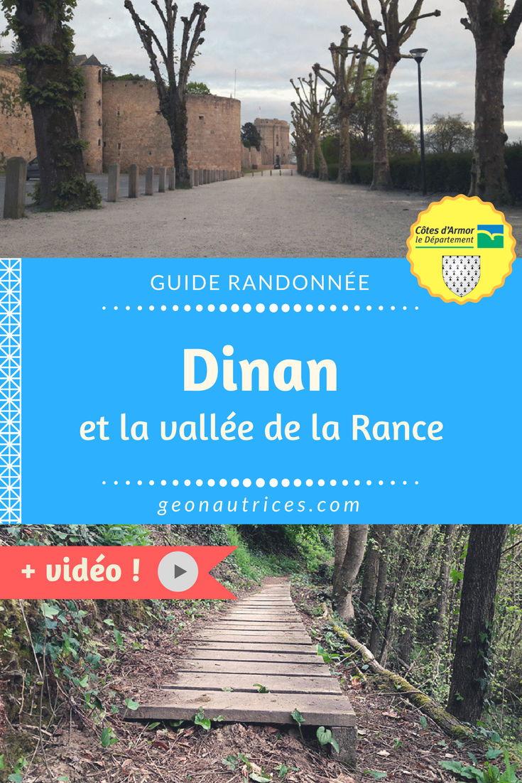 La Bretagne regorge de beaux paysages parfaits pour randonner. Ici, c'est une randonnée à Dinan et la Vallée de la Rance qu'on vous propose ! Et en bonus, on vous a fait une vidéo ! #bretagne #dinan #randonnée #France