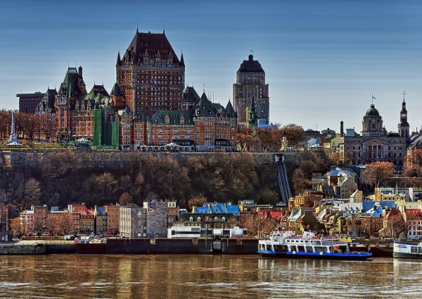 Vieux Québec depuis Lévy