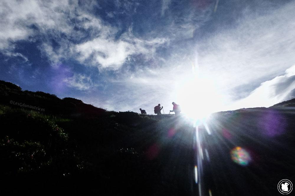 Tour du Mont-Blanc à pied - Départ du Refuge Bel-Lachat