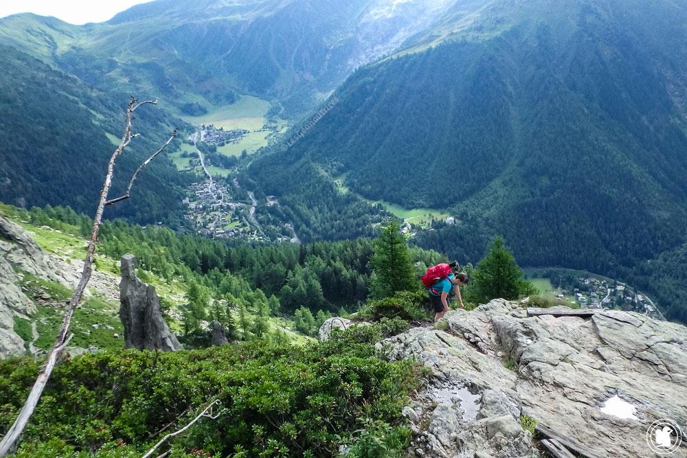 Tour du Mont-Blanc à pied - Aiguillettes d'Argentières - TMB