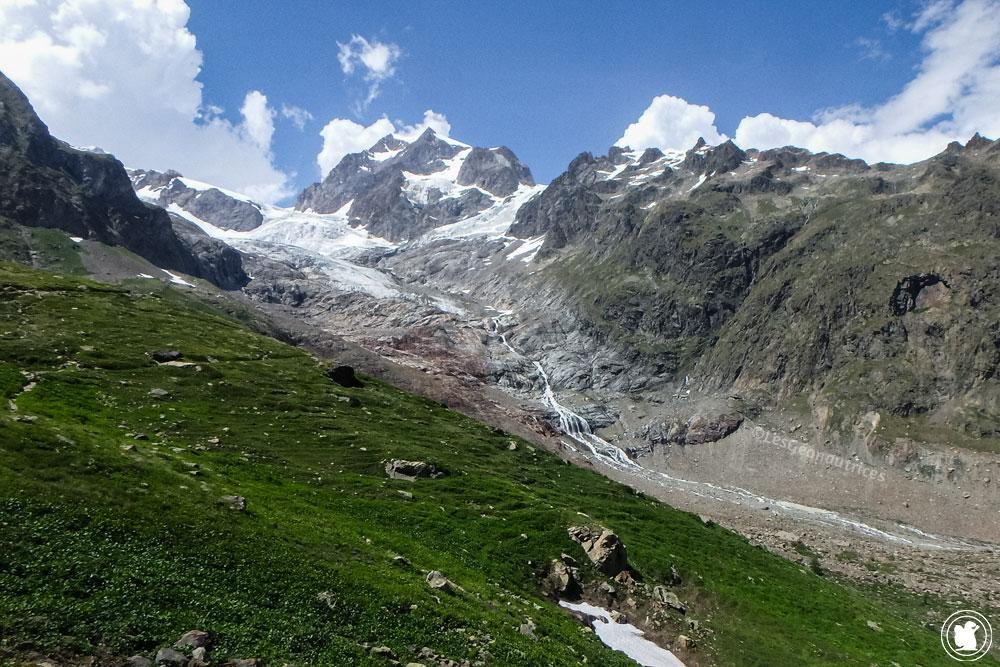 TMB - Glacier de la Lée-Blanche