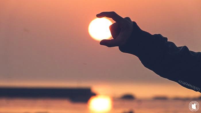 Le soleil au bout des doigts, Penmarc'h, Finistère sud, Bretagne