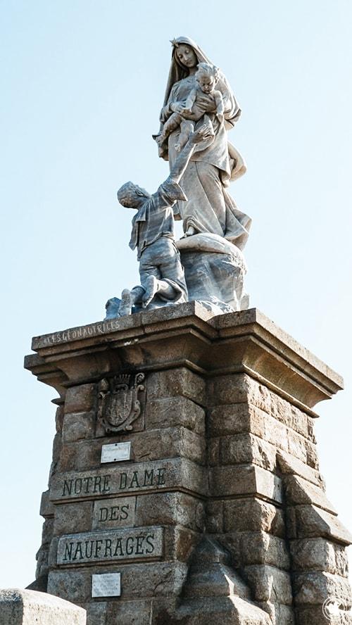 Notre-Dame-des-Naufragés, Pointe du Raz, Bretagne