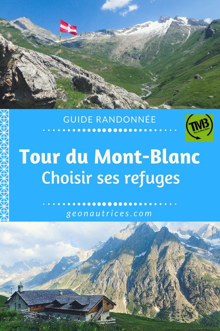 Retrouvez toutes nos infos utiles sur les refuges du Tour du Mont-Blanc ! Descriptif de 8 refuges + comment se passe une nuit en refuge. #TMB #Tourdumontblanc #trekking