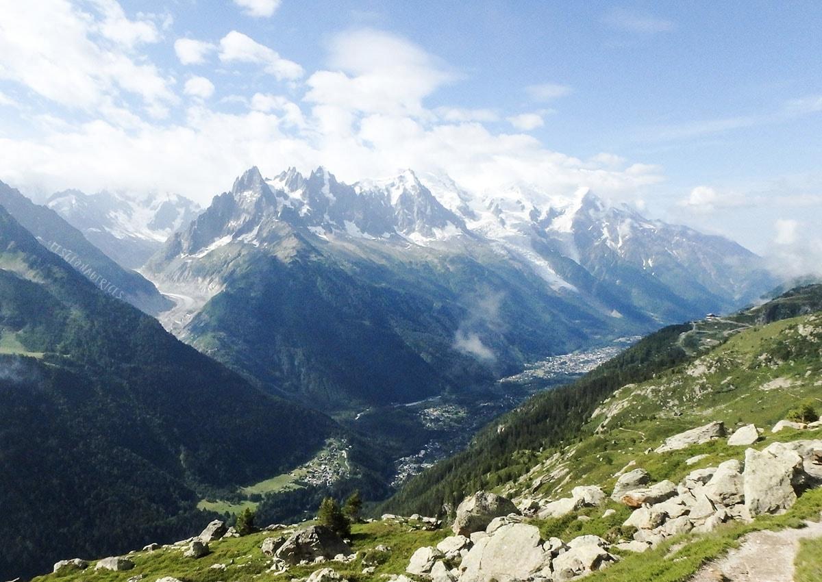 Tour du Mont-Blanc à pied - Mont-Blanc du Tacul, Aiguille du Midi