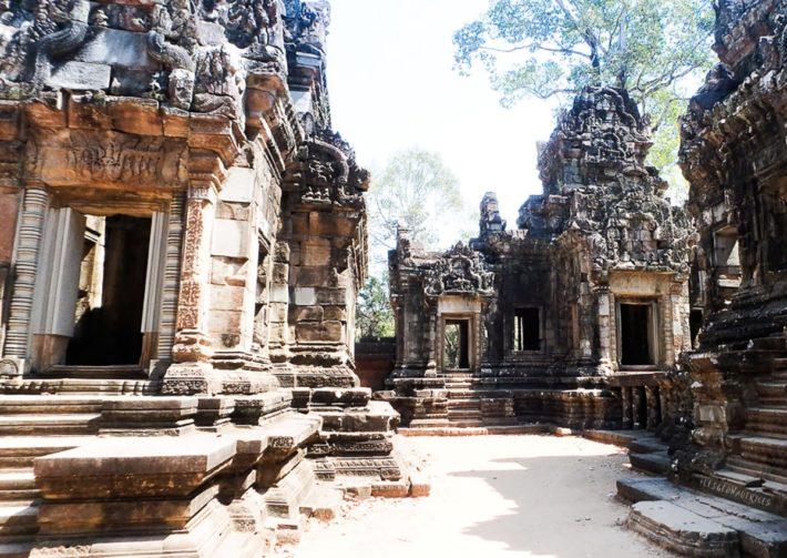 Chau Say Tevoda, Angkor, Cambodge