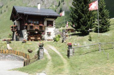 Maison typique - Tour du Mont-Blanc