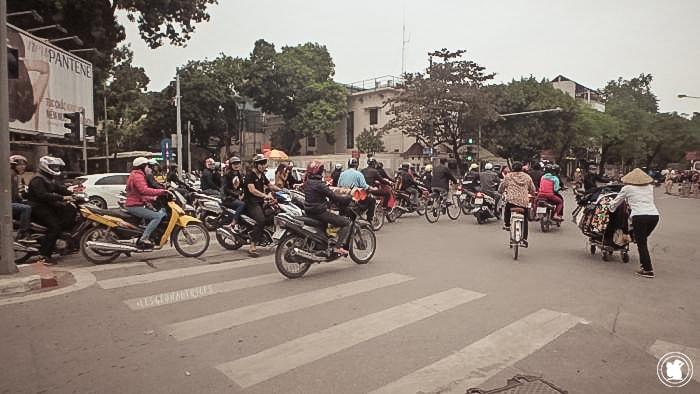 Trafic à Hanoï, Vietnam