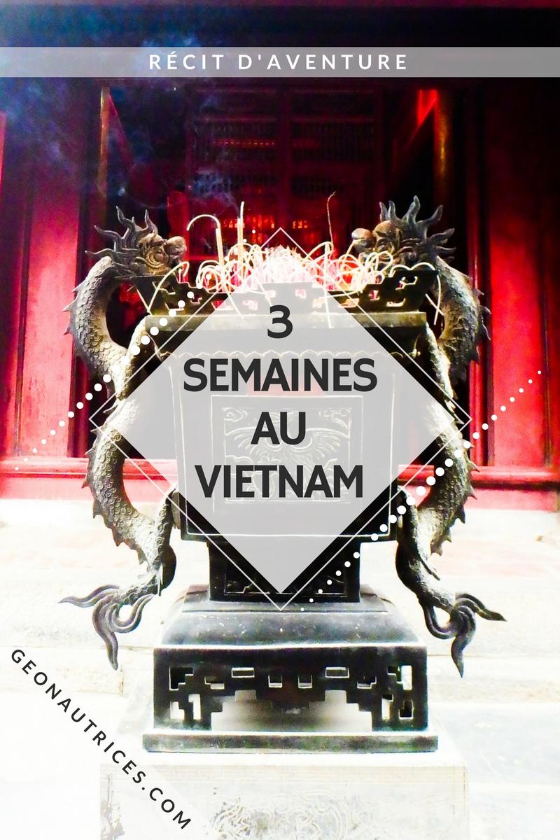 Récit d'un voyage de trois semaines au Vietnam de Hanoi à Quy Nhon. Bus de nuit et bus de jour, Bord de mer et océan, villes et villages. #vietnam #voyage #asiesudest