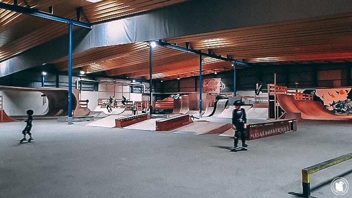 Skate Park Darwin, Bordeaux
