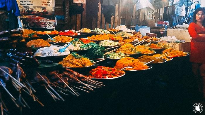 Buffet Luang Prabang, Laos