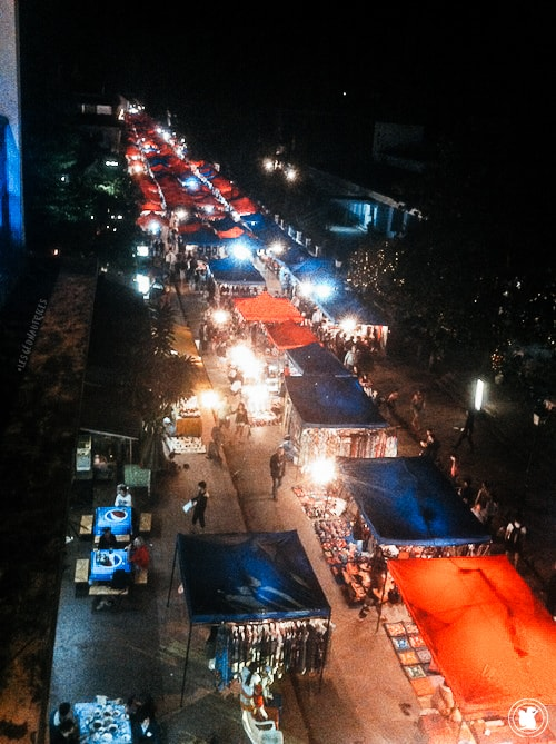 Marché de nuit Luang Prabang