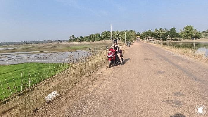 Campagne de Savannakhet - lac Ning Bungra