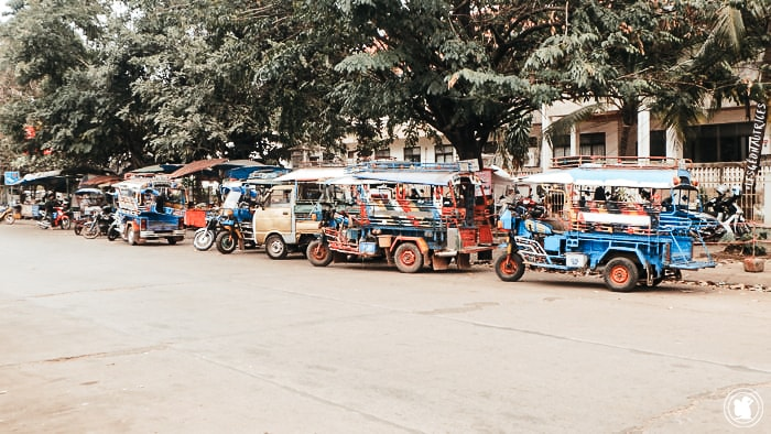 Tuk tuks Pakse, Laos