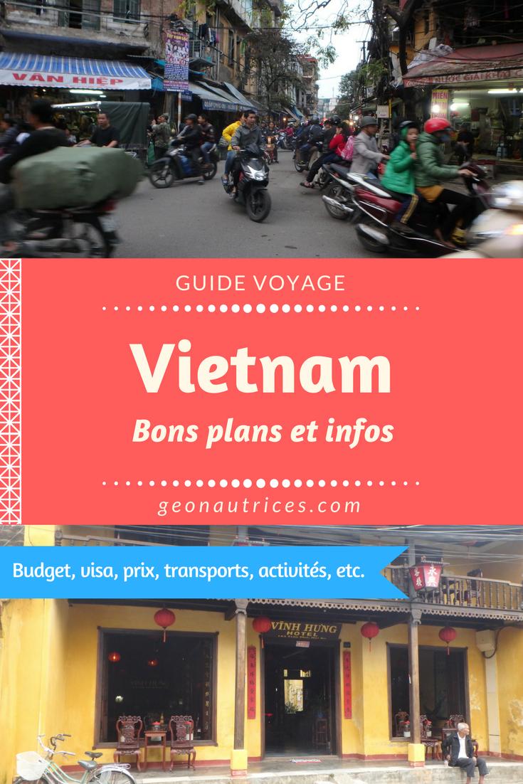 Voyage au Vietnam, quoi voir, quoi faire, quel budget prévoir ? Voilà des informations utiles qui pourront vous être utilises pour la préparation de votre voyage ! #vietnam #asiesudest #backpacking