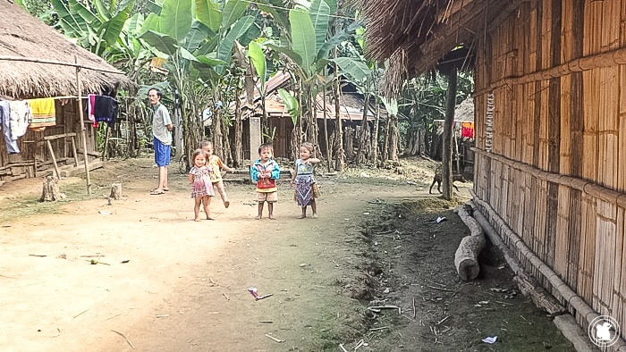 Village vers Luang Prabang