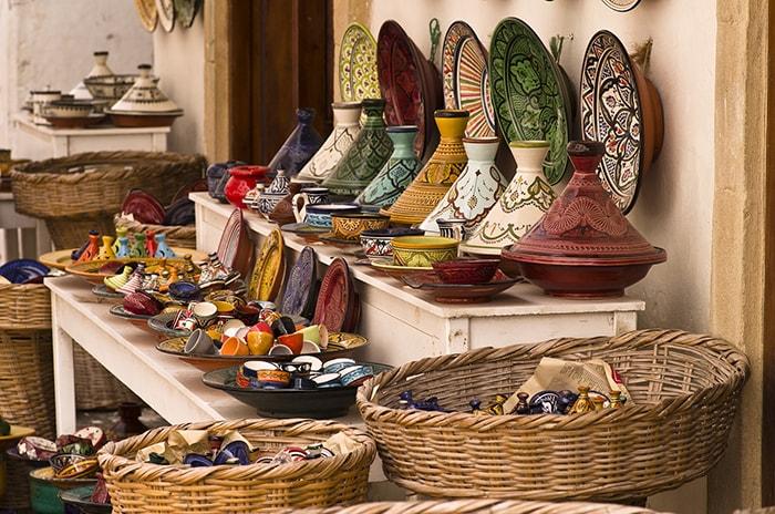 Plats à tajine marocains