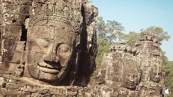 Temple Bayon, Cambodge