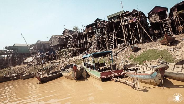 Village (flottant) de Kompong Phluk
