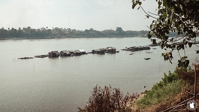 Koh Trong Kratie, Cambodge