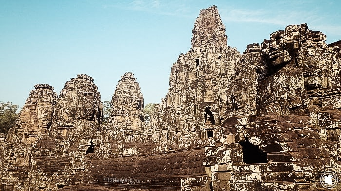 Temple de Bayon, Cambodge